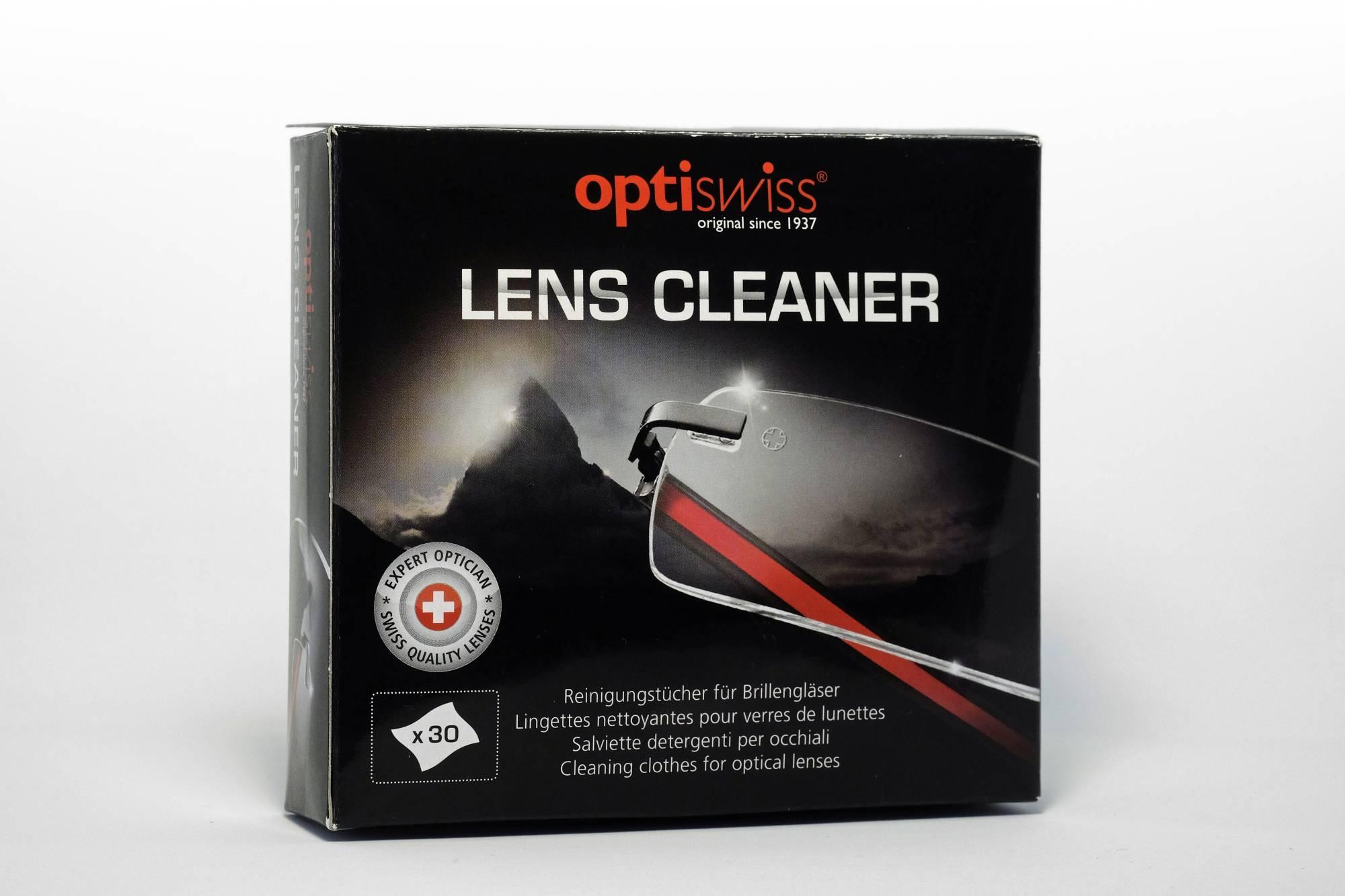 Lens Cleaner, Reinigungstücher