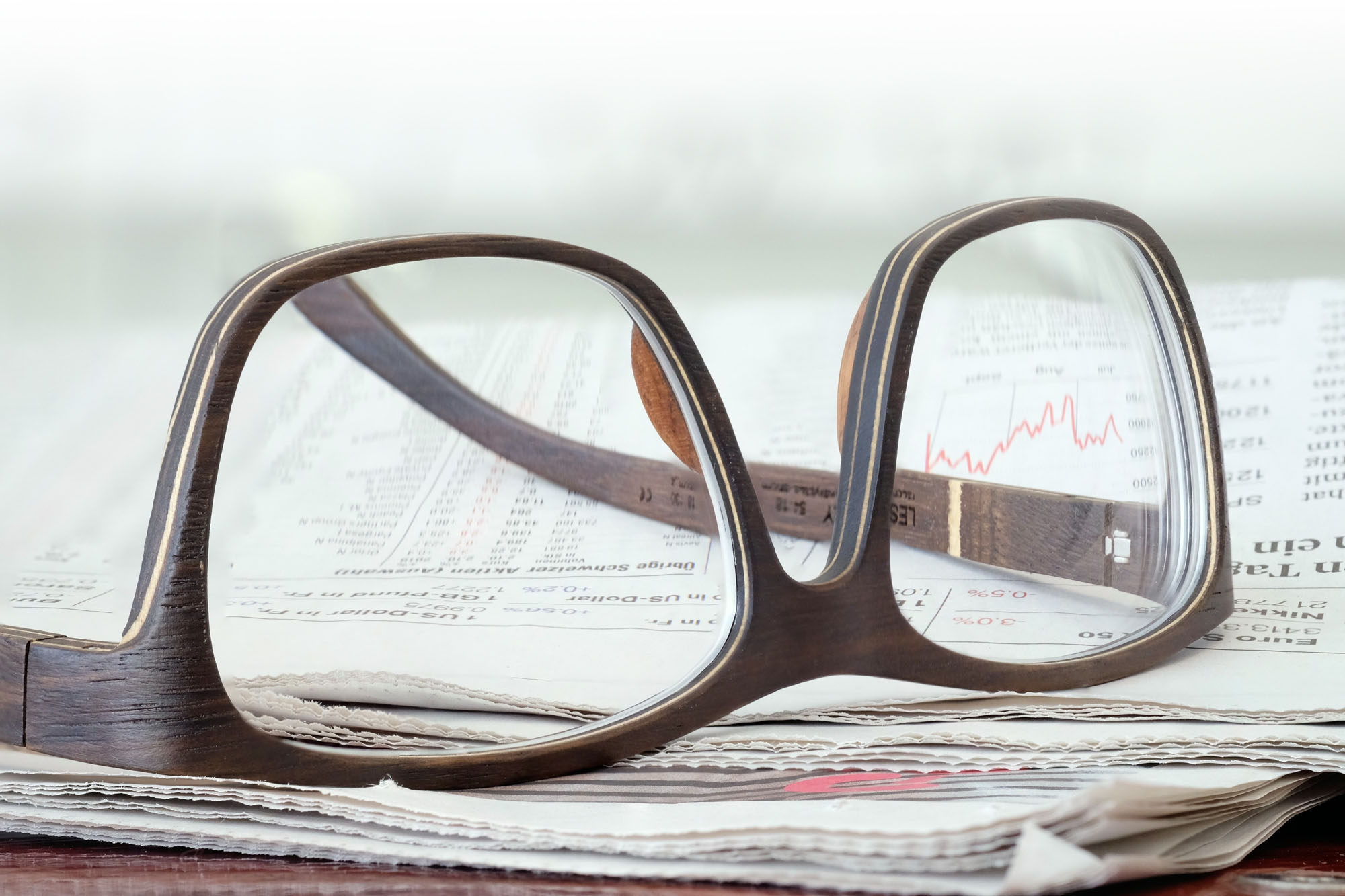 SCHEFFIN! Holzbrille - Lesly