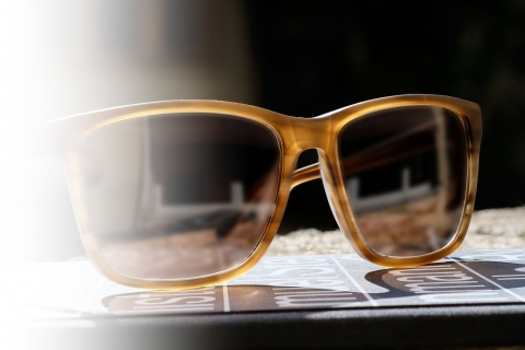 Hamburg Eyewear - Oscar, 27M | haselnuss, strukturiert, matt
