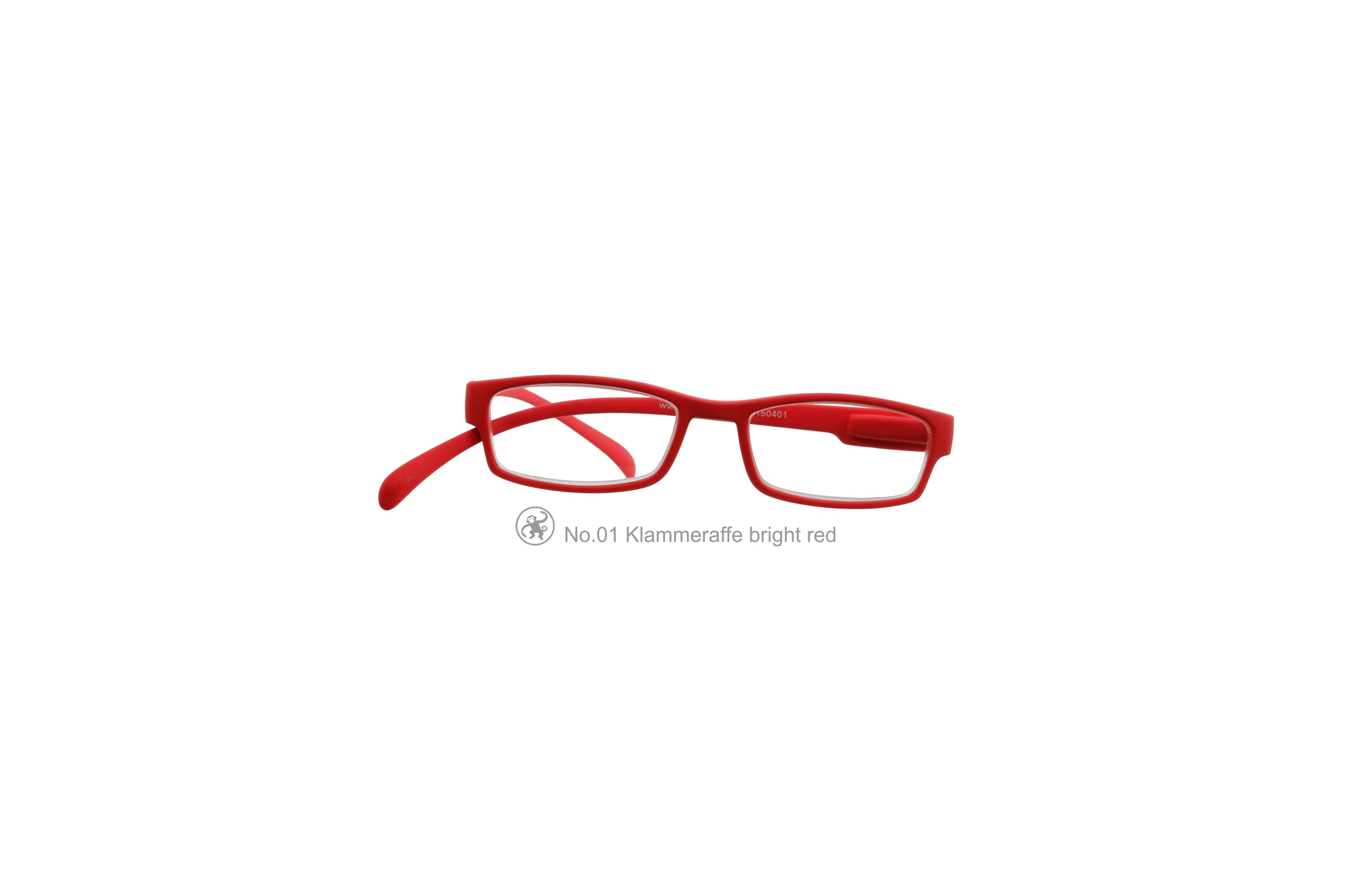 Klammeraffe Modell 01, bright red