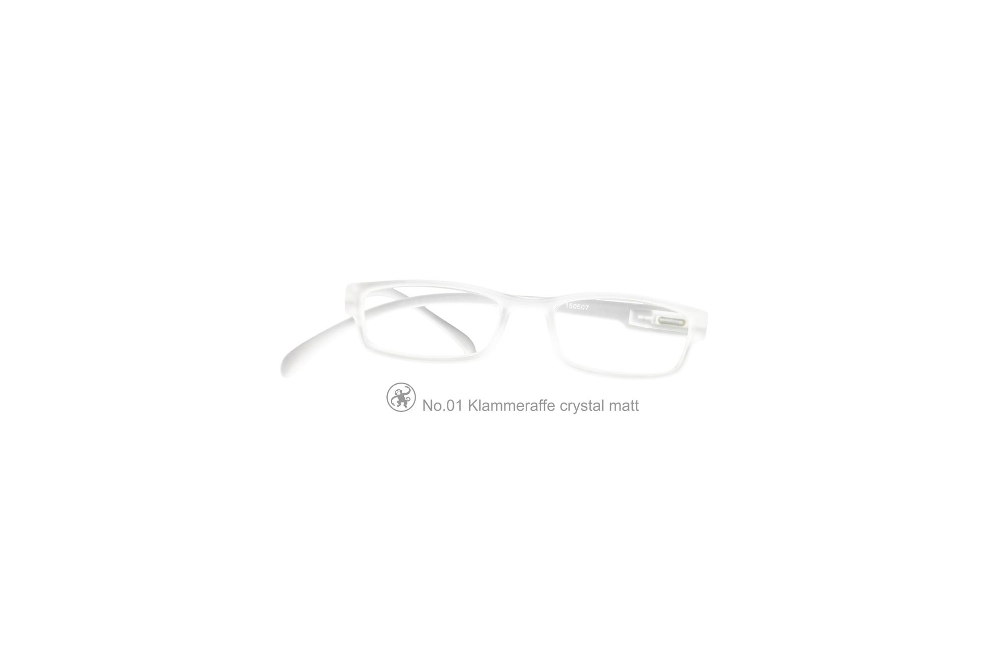 Klammeraffe Modell 01, crystal matt