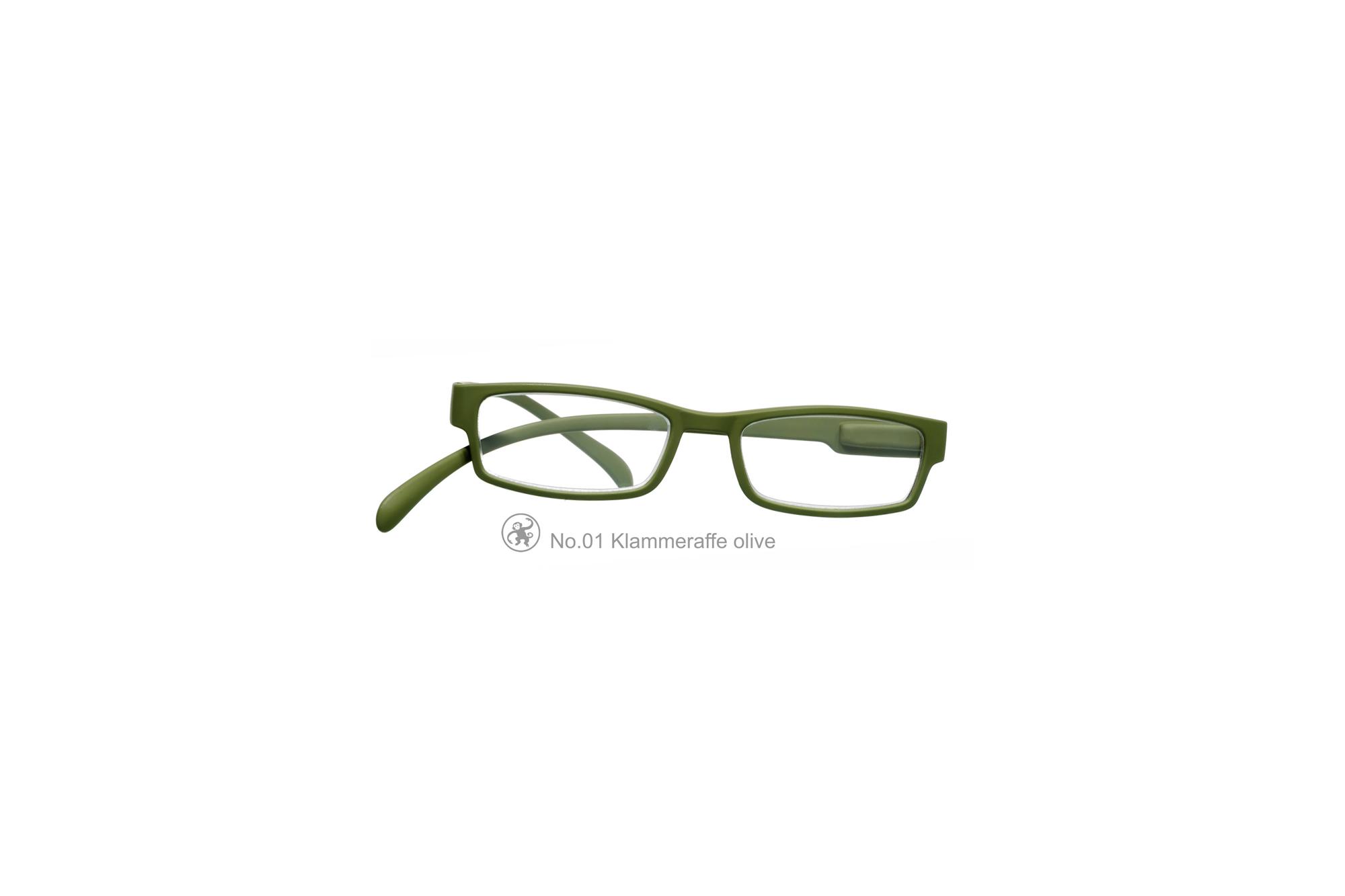 Klammeraffe Modell 01, olive