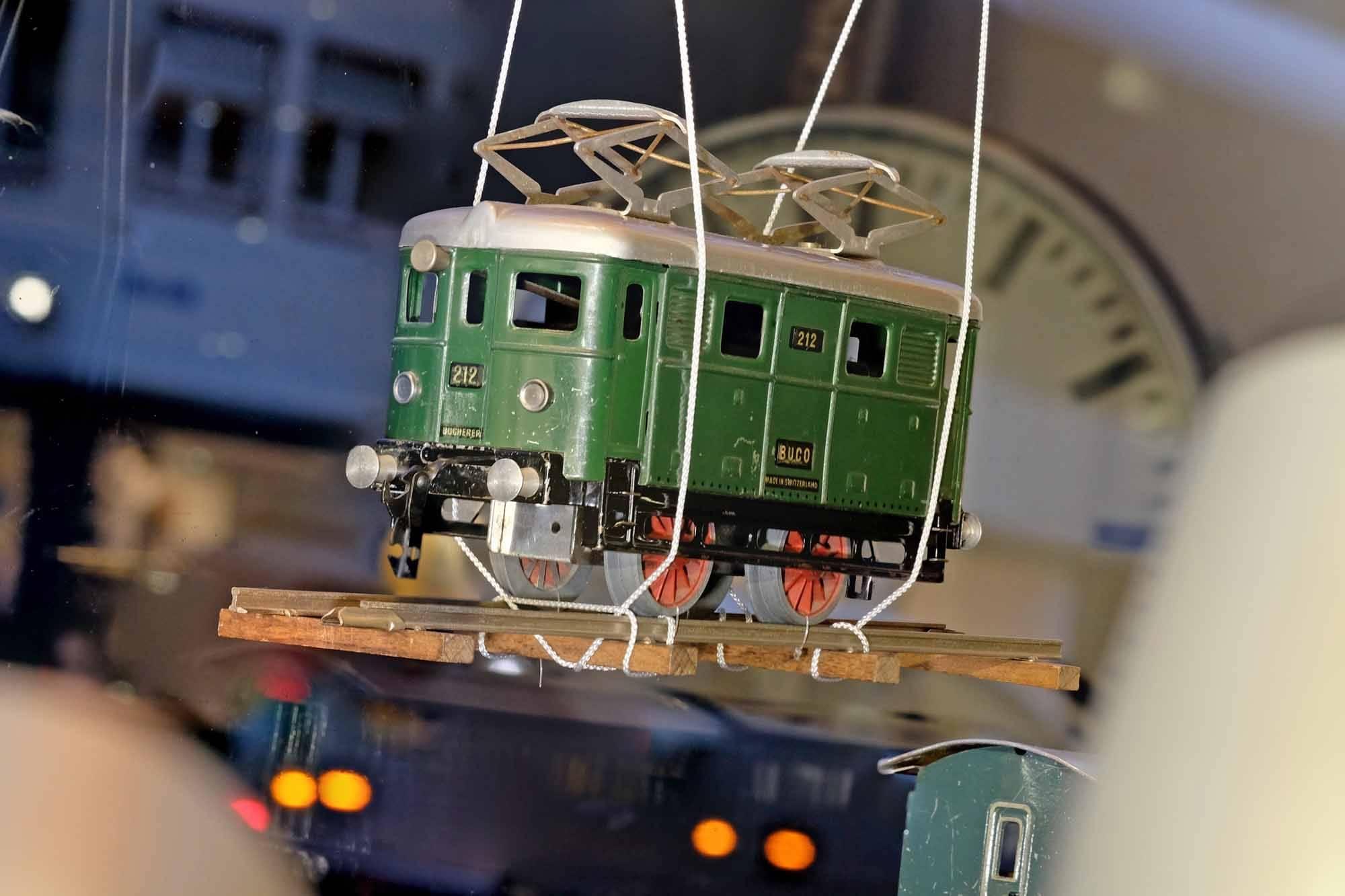 Schaufenster Nr. 62: Herbstmesse ist Eisenbahnzeit