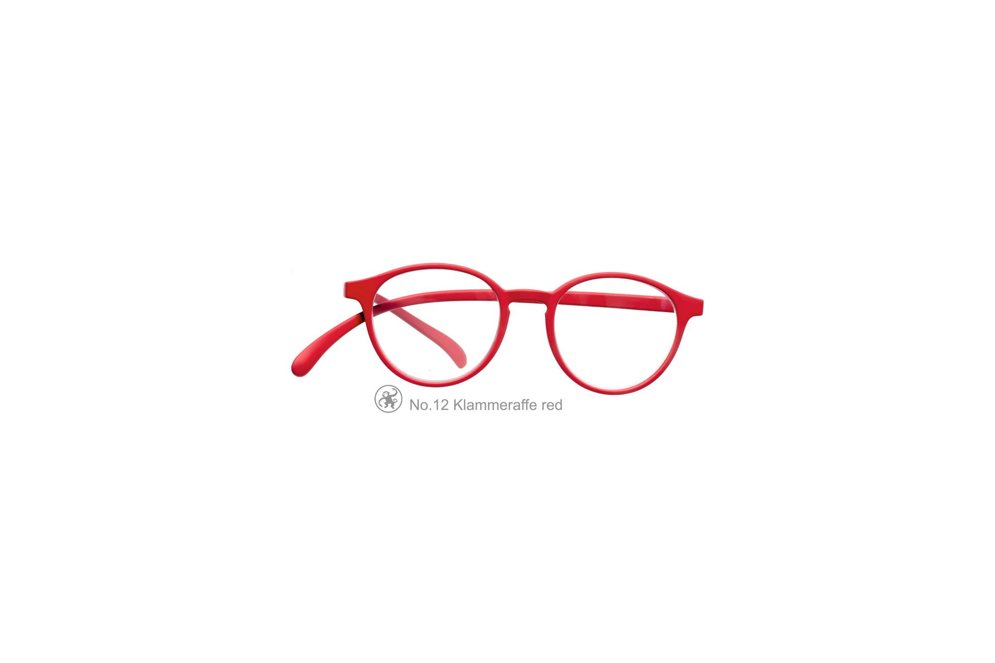 Klammeraffe Modell 12, red