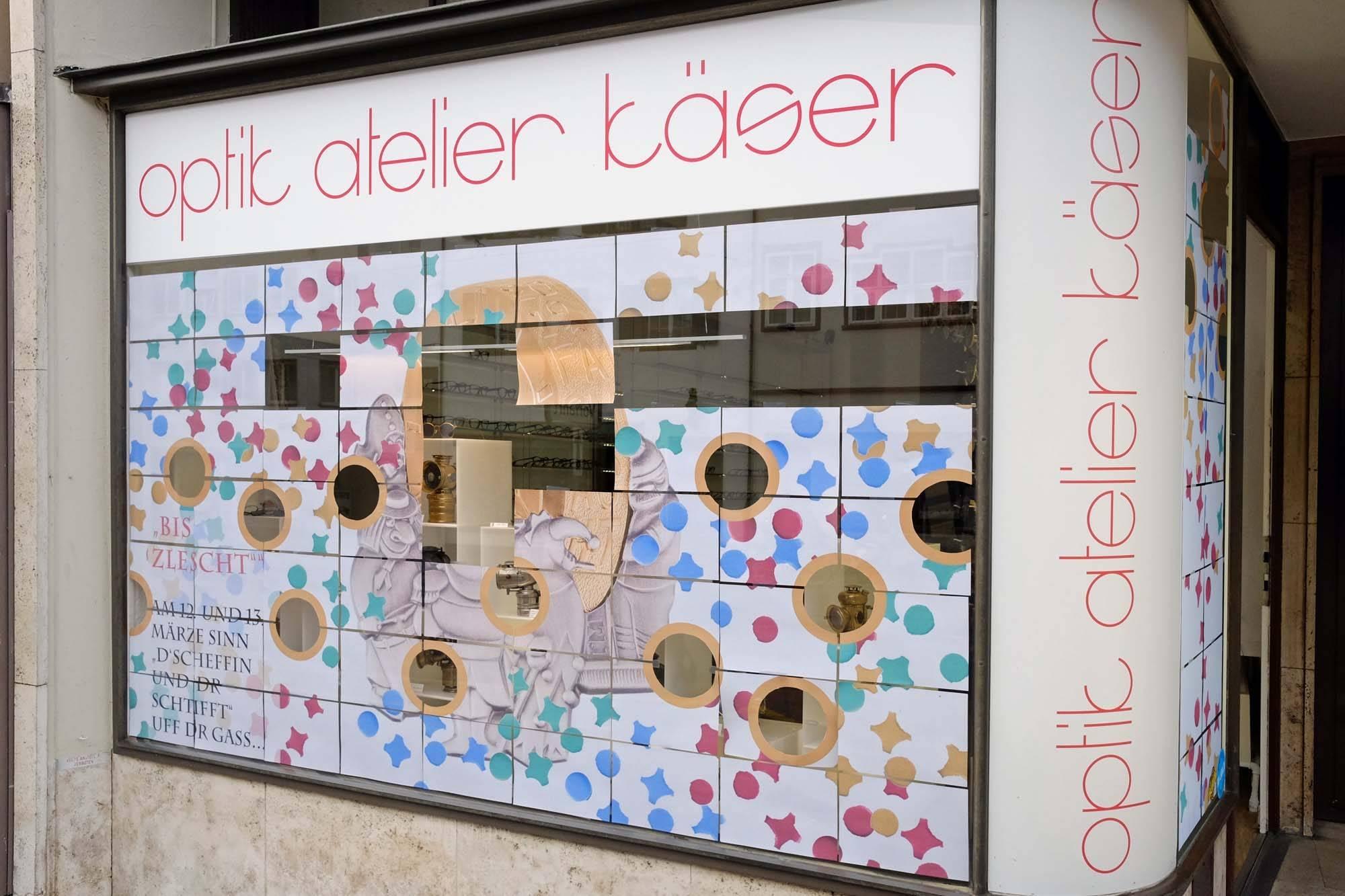 """Schaufenster Nr. 055: Fasnacht 2019: """"Bis zletscht"""""""