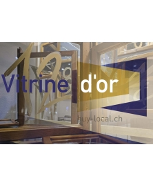 Schaufenster Nr. 038: Vitrine d'Or