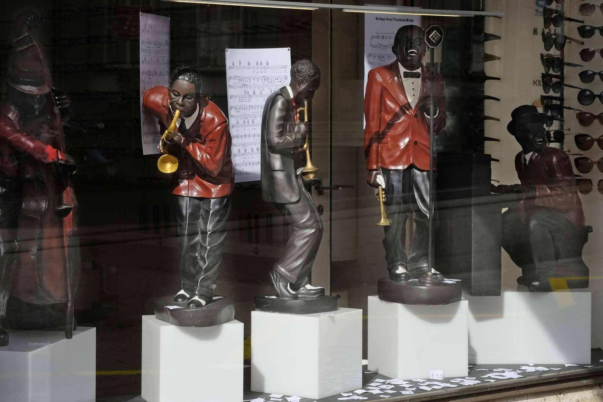 Schaufenster Nr. 032: Summer in the City: Bernie's Jazzband