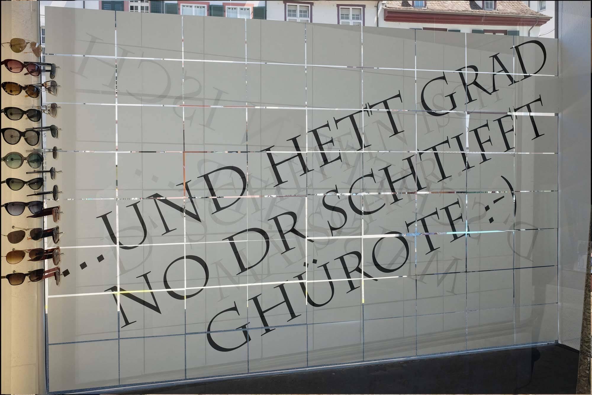 """Schaufenster Nr. 031: Meisterfeier und """"Leinen los!"""""""
