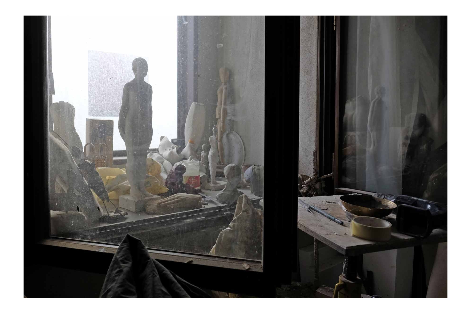 Paul Stebler's Atelier in der alten Kaserne