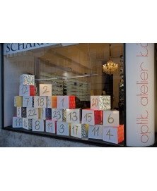 Schaufenster Nr. 025: Adventskalender: Vintage, Seventies