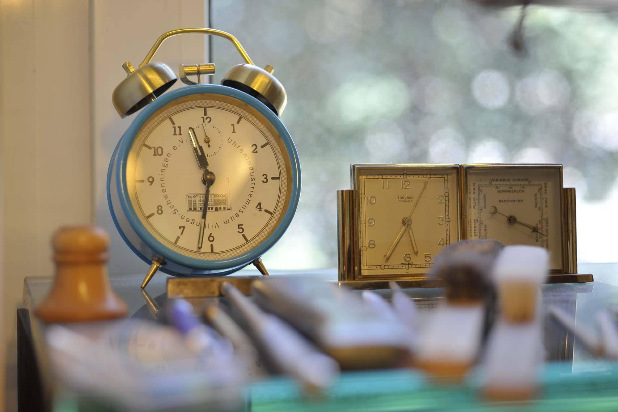 Das Atelier von Uhrmacher John Joseph