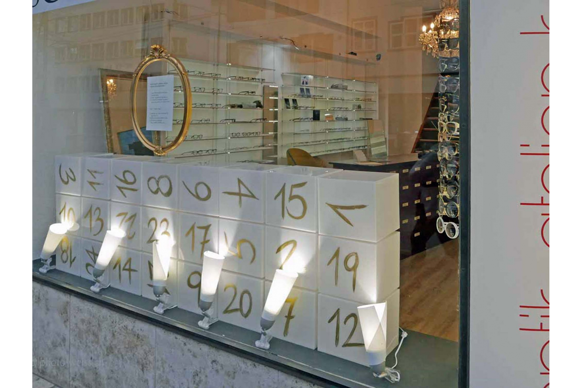 Schaufenster Nr. 014: Adventskalender