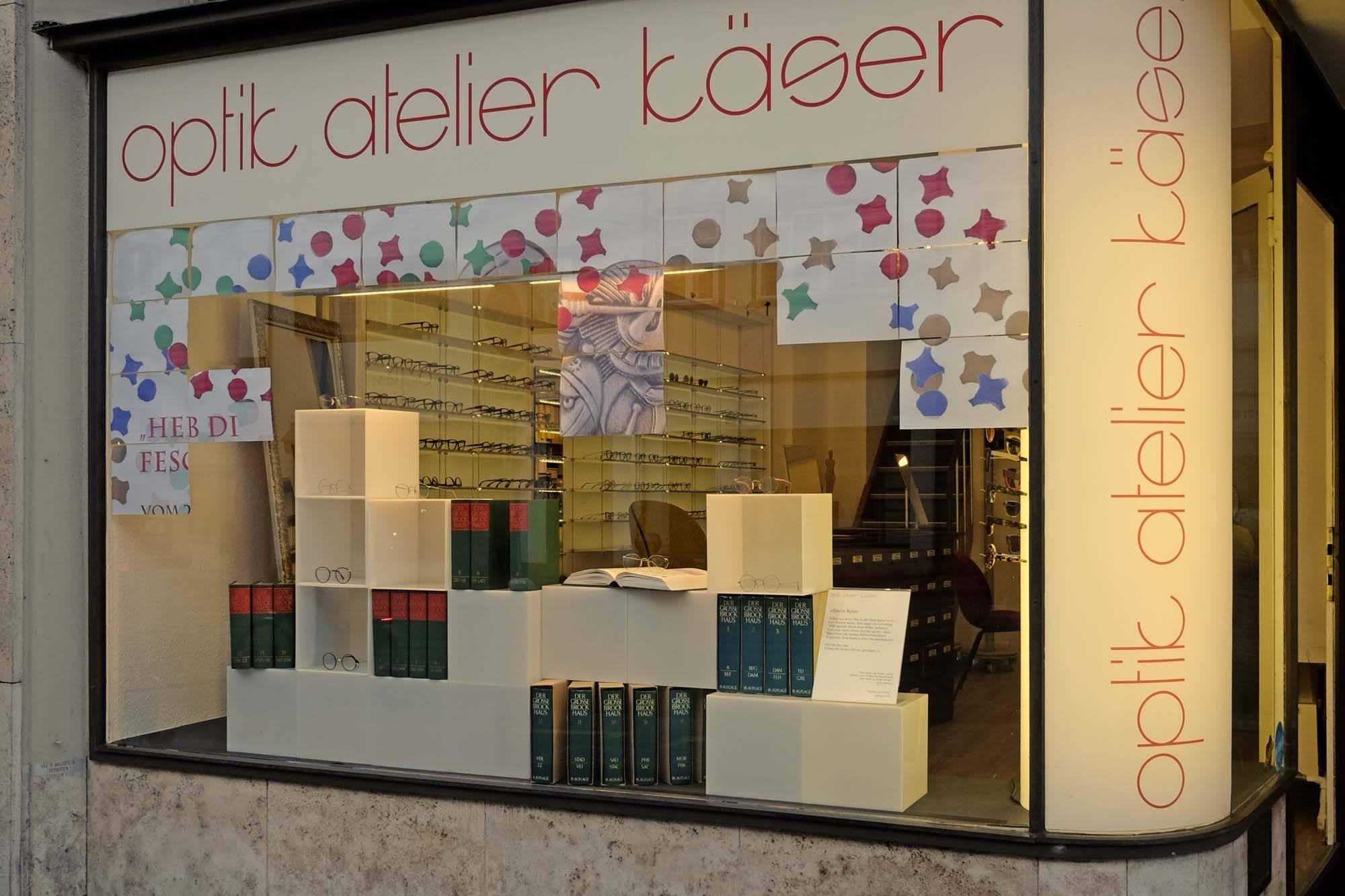 """Schaufenster Nr. 067: """"Heb di fescht"""""""