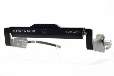 Klenze & Baum - Massbrille für die individuelle Ausmessung