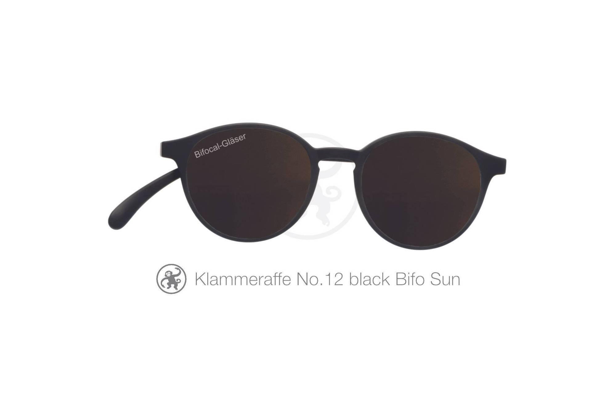 Klammeraffe Modell 12 bifokal, Farbe black