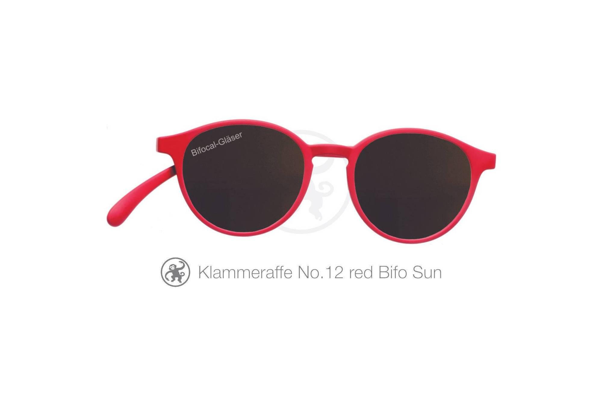 Klammeraffe Modell 12 bifokal, Farbe red