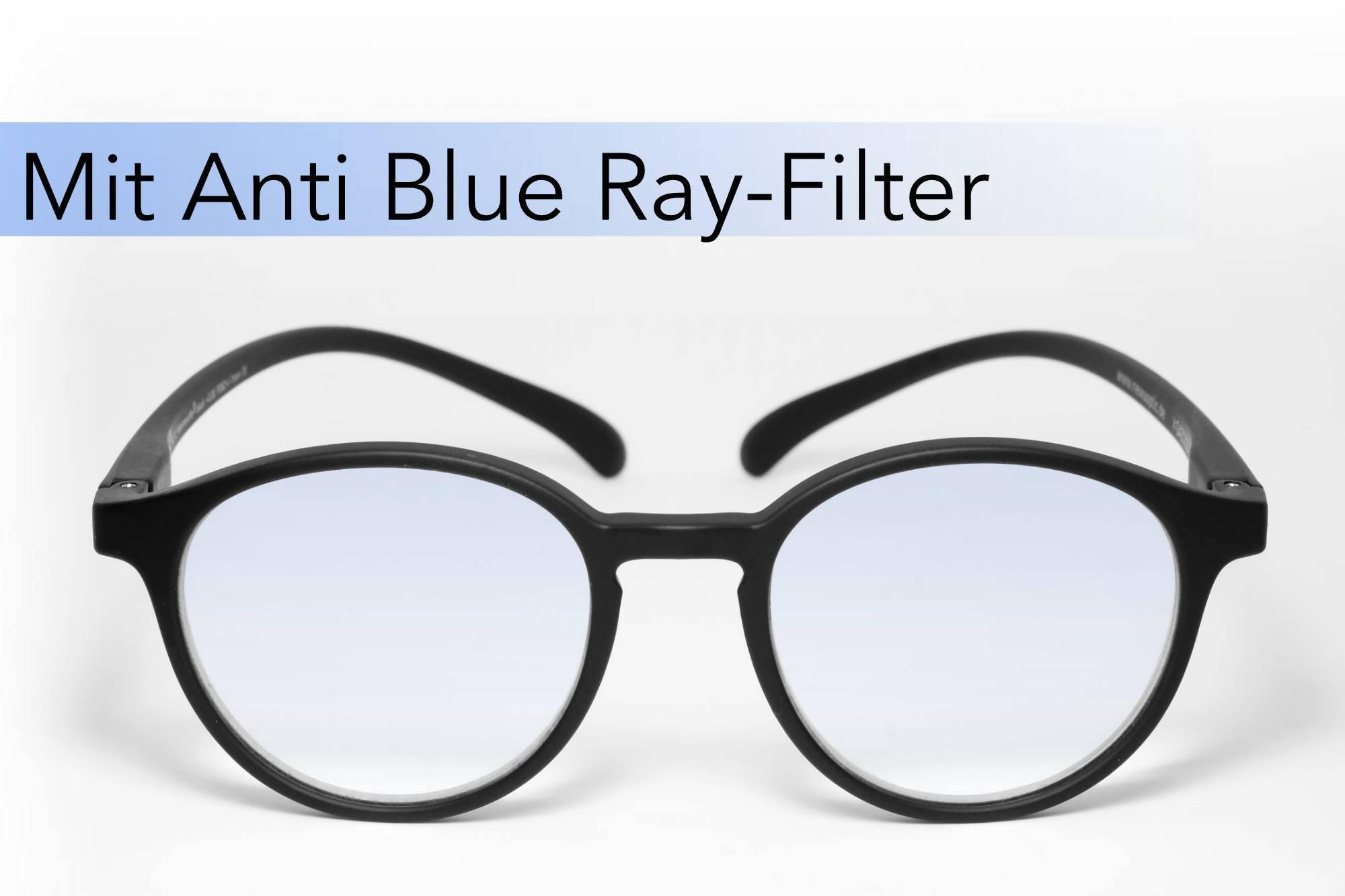 Klammeraffe Modell 12 Anti Blue Ray, black