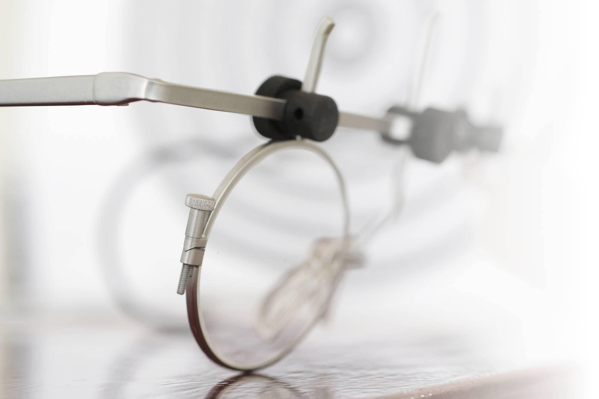 JAEGGI Nova-Schiessbrille für Pistole, R, 42mm gerade