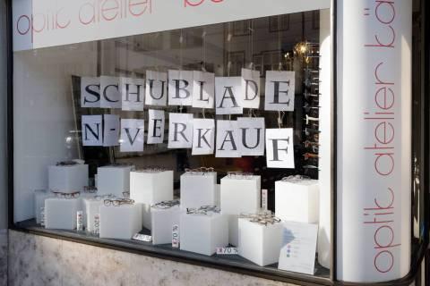 Schaufenster Nr. 080: SCHUBLADENVERKAUF
