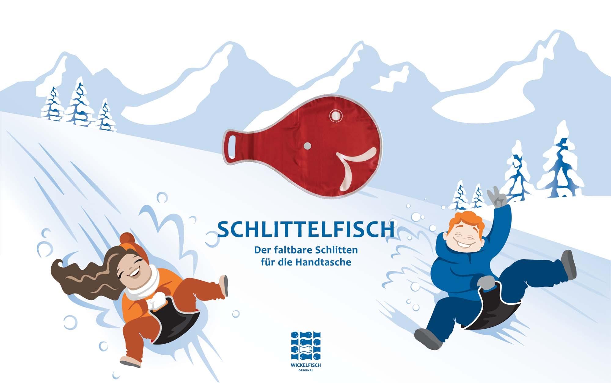 Geschenkidee Schlittelfisch